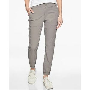 Athleta Trekkie Jogger 2.0 Silver Grey